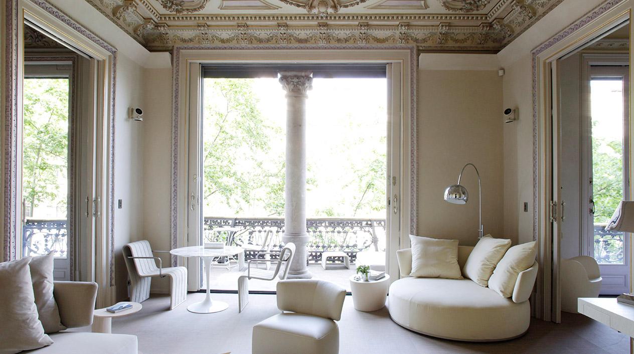 Hay 45 techos diferentes en todo el edificio y están catalogados por el Ayuntamiento de Barcelona.