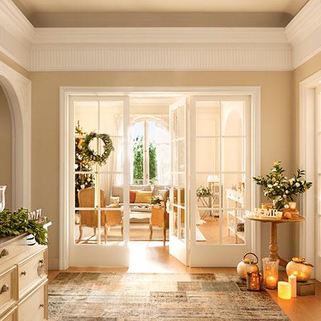 Una casa para vivir la Navidad