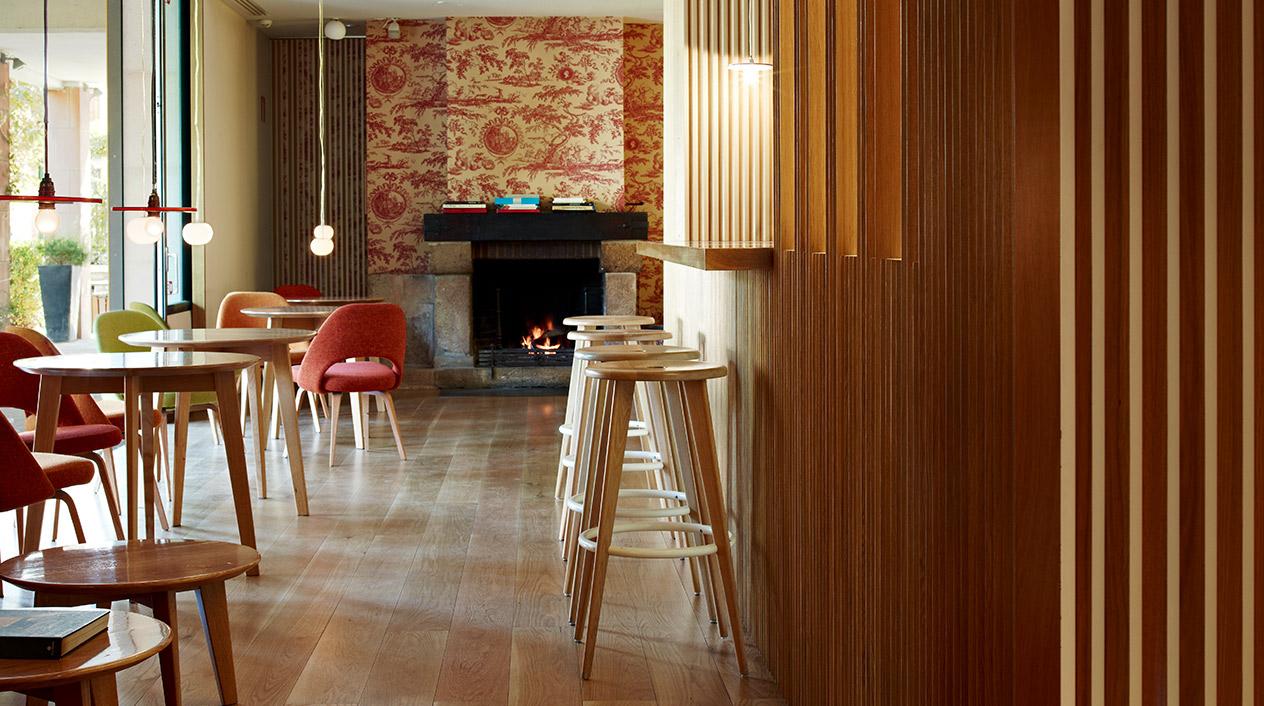 El hotel boutique desprende un ambiente elegante y acogedor que, además, es 100% sostenible.