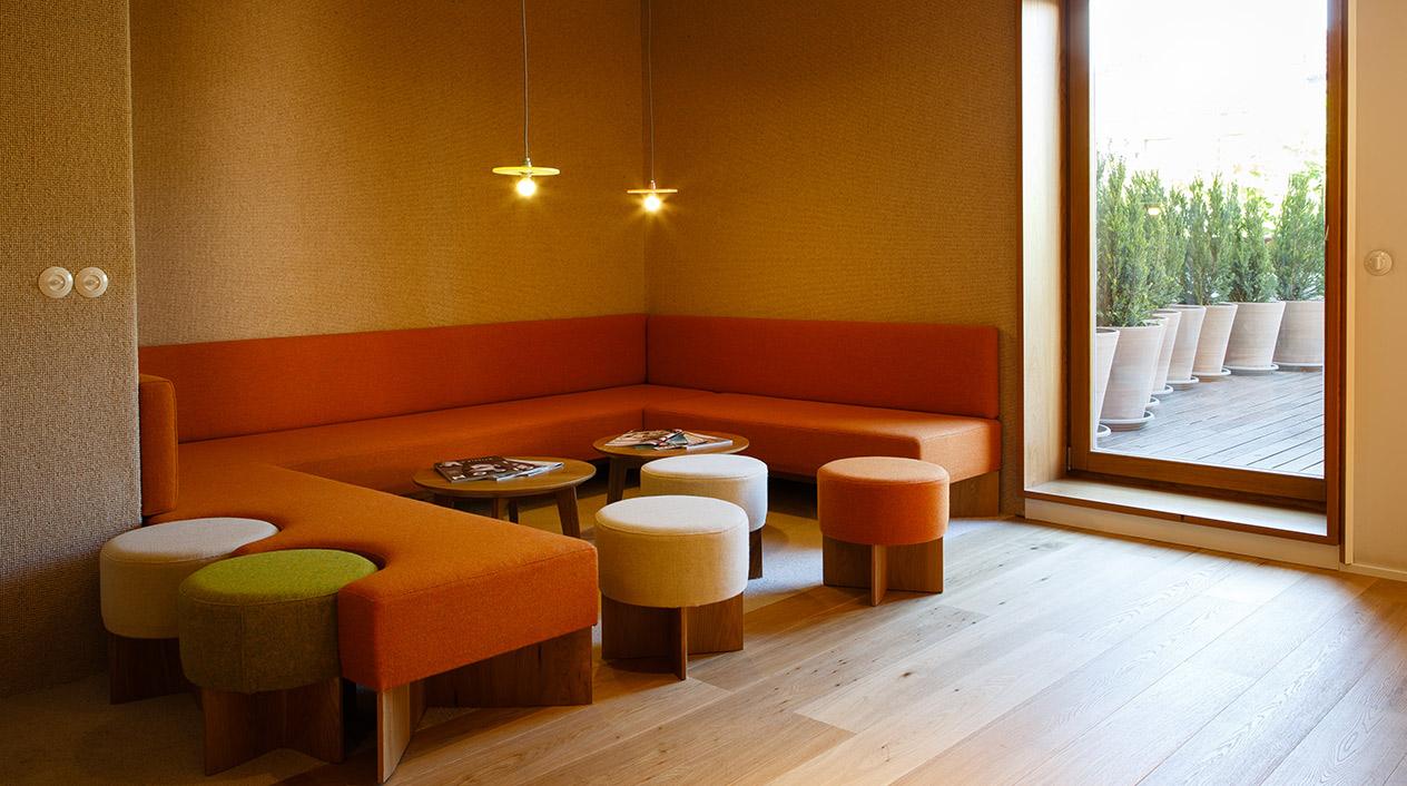 La última propuesta gastronómica del espacio gastronómico es el e-Tapas, un bar que sirve pequeñas tapas de alta cocina.