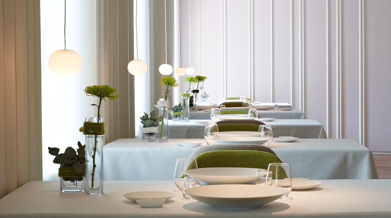 El restaurante Echaurren Tradición es el núcleo de todo este conglomerado turístico y gastronómico en el que ofrecen una apasionada visión de la cocina tradicional riojana.