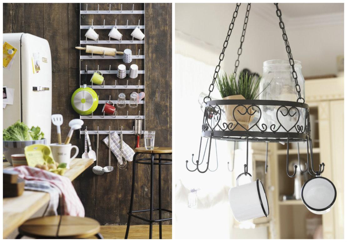 Ideas básicas para organizar la cocina lateral
