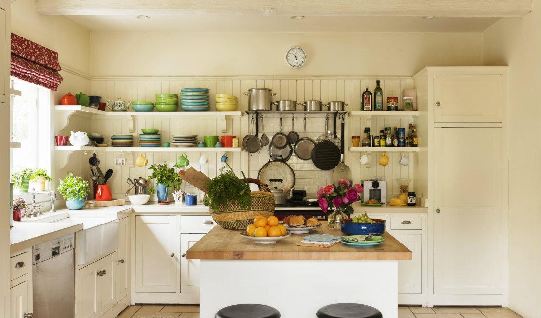 ideas para organizar la cocina almcenaje