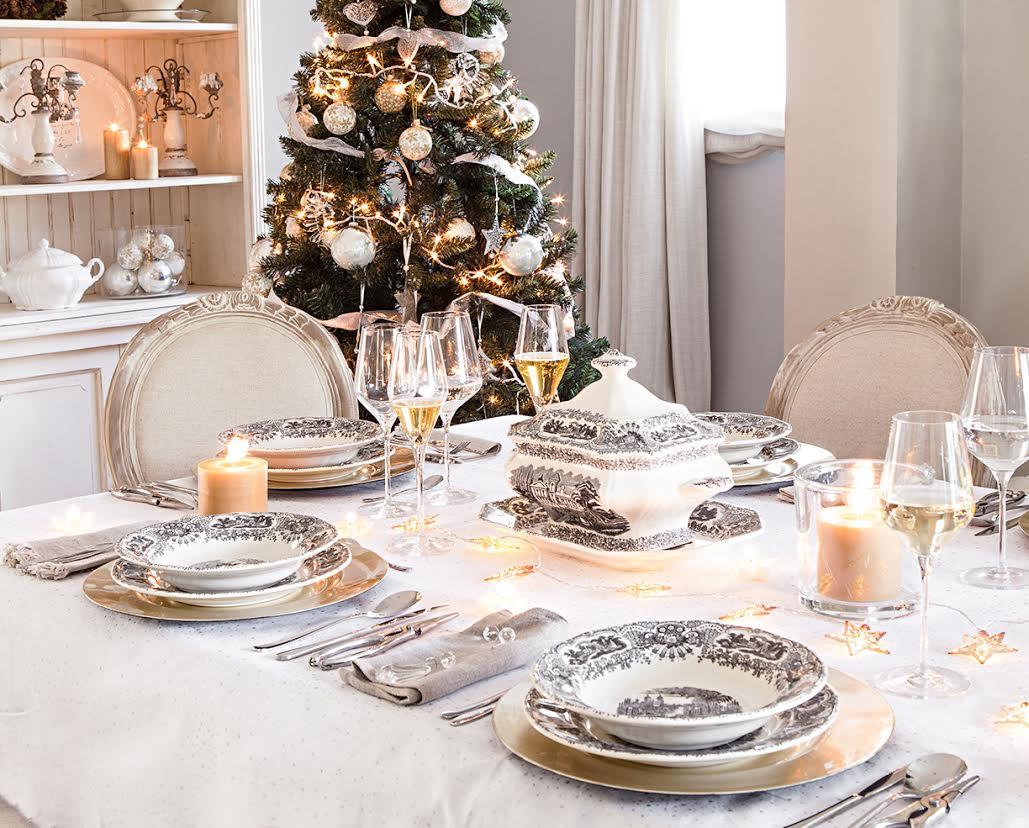 Cómo decorar la mesa de Navidad orden