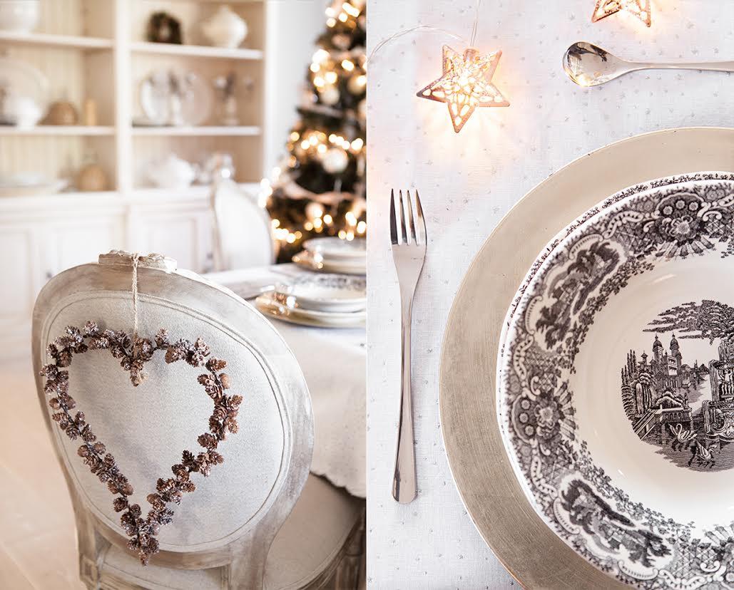 Cómo decorar la mesa de Navidad detalles