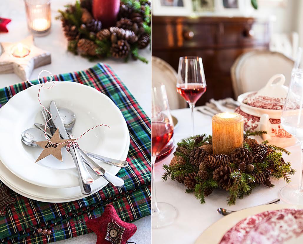 Cómo decorar la mesa de Navidad tendencias