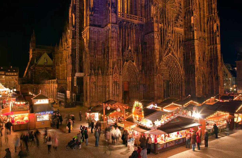 El mercado de Navidad de Estrasburgo