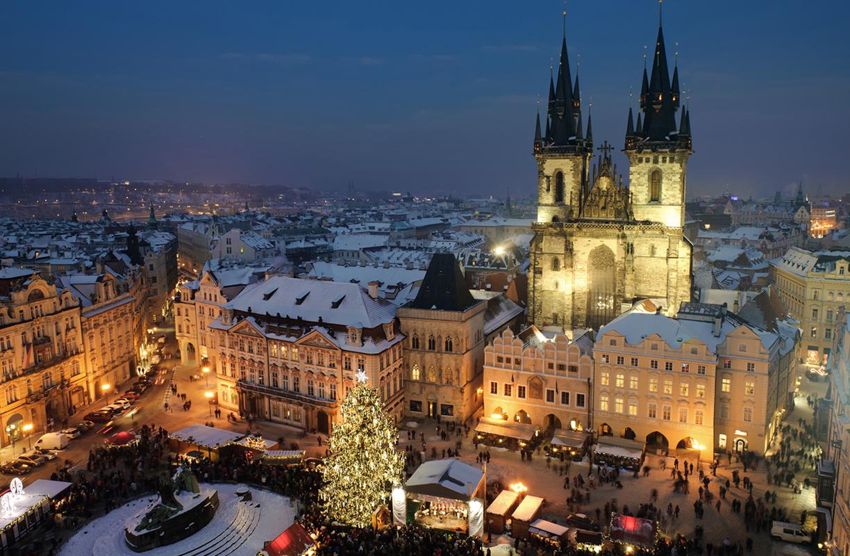 El mercado de Navidad de Praga