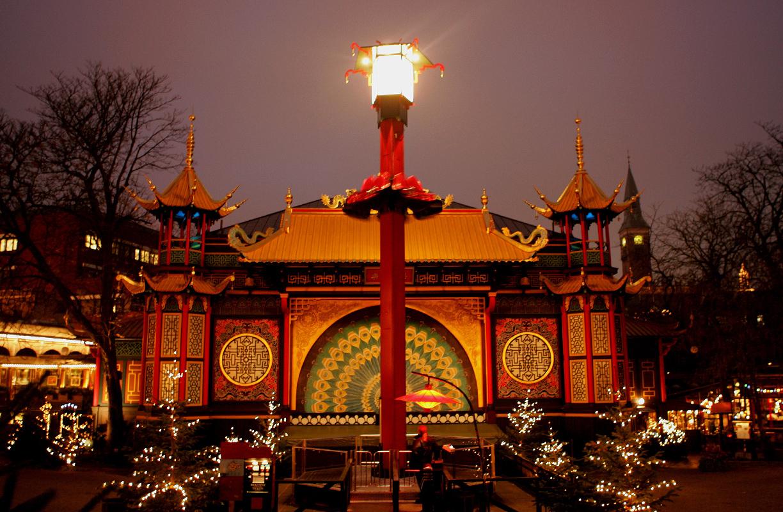 El mercado de Navidad de Copenhague