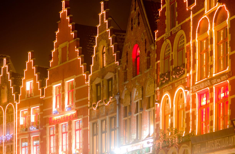 El mercado de Navidad de Brujas