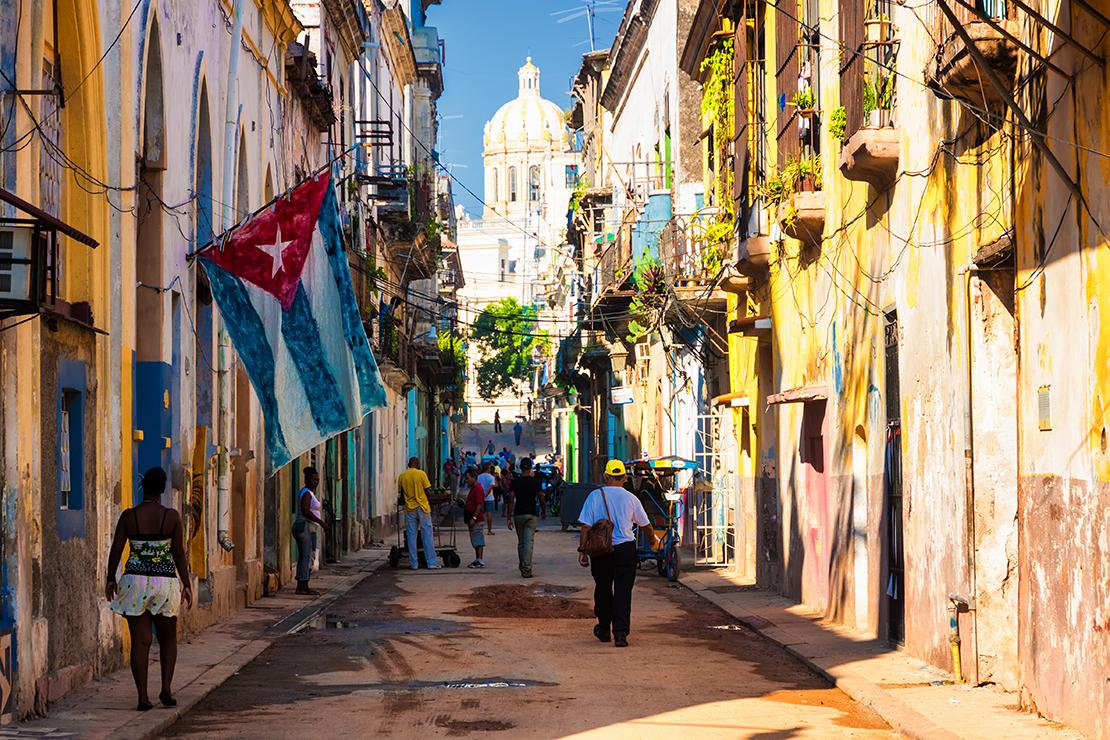Paseo por Habana Vieja, Cuba