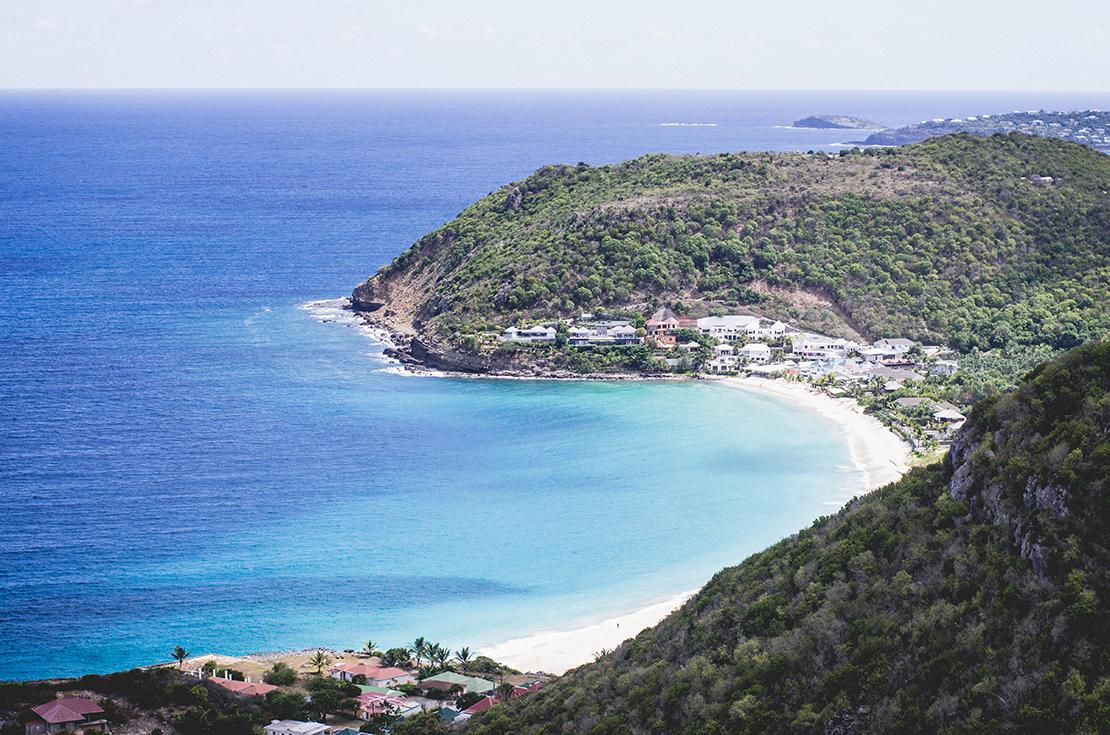 San Bartolomé isla caribeña