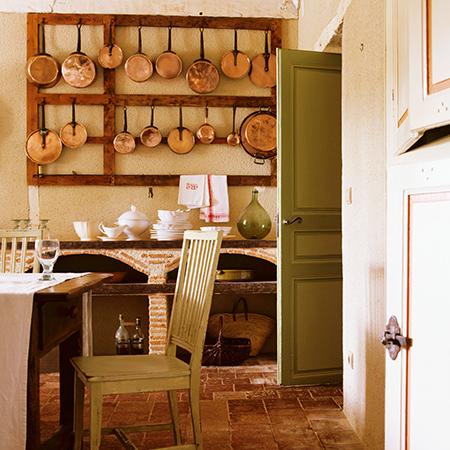 Receta para crear una cocina de estilo toscano