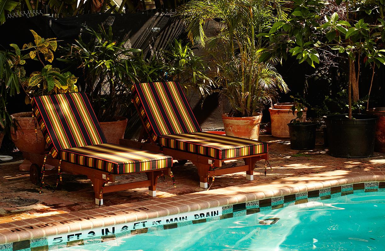 La piscina del Freehand Miami es uno de sus grandes atractivos. A su alrededor se organizan todo tipo de fiestas y eventos