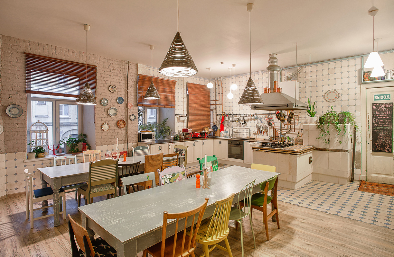 El eclecticismo forma parte del ADN del hostal Soul Kitchen