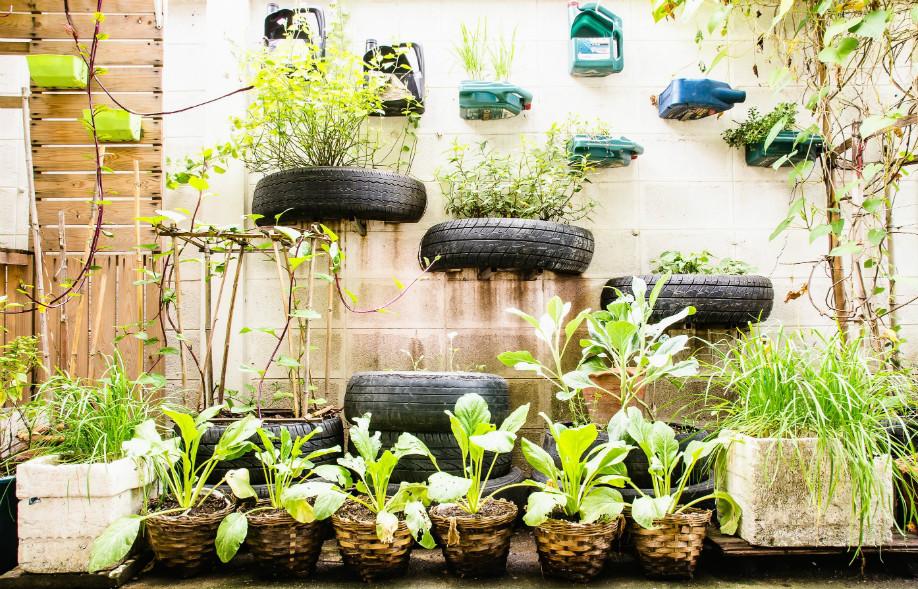 Jardines urbanos verticales