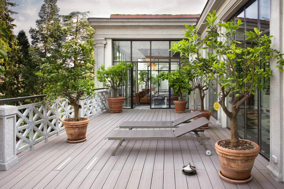 Jardines urbanos terraza