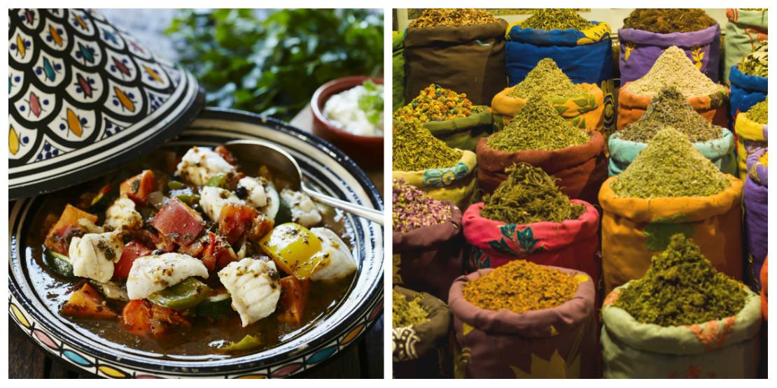 Marrakech comida