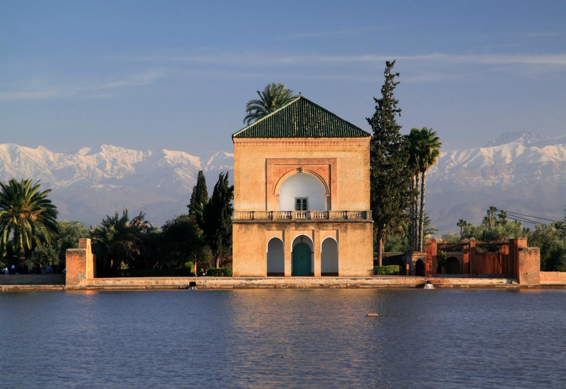 Marrakech jardines de la Menara