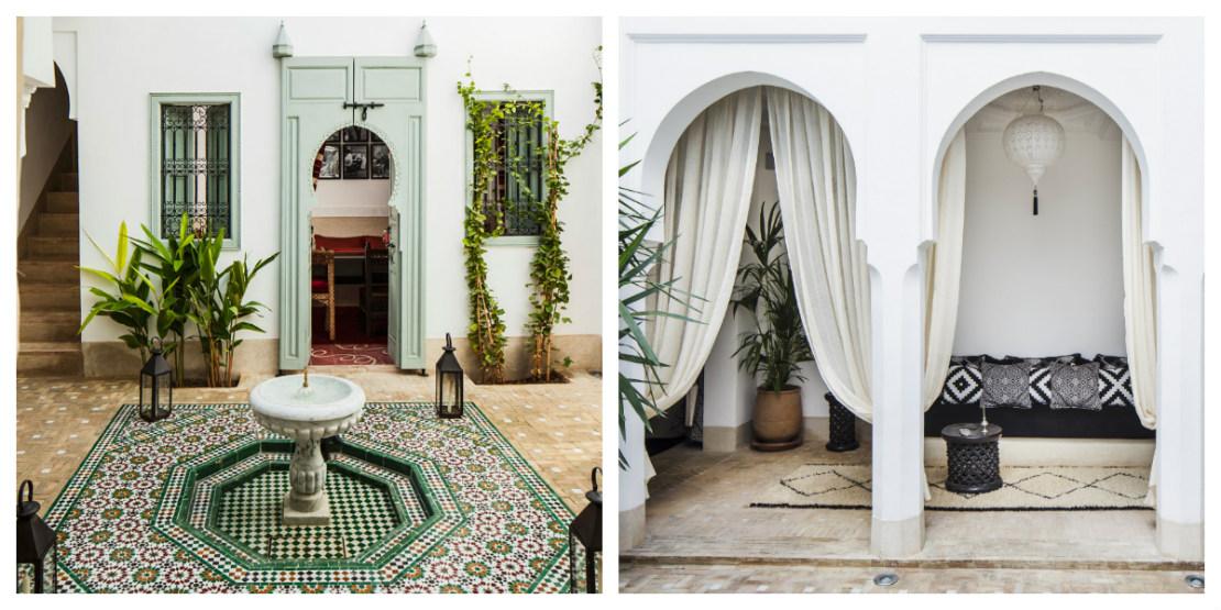 Marrakech Riad para alojarse