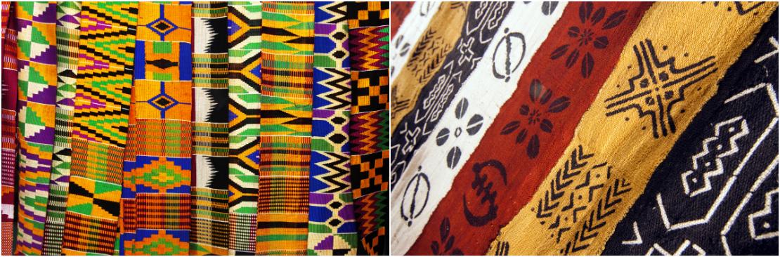 Estilo tribal telas