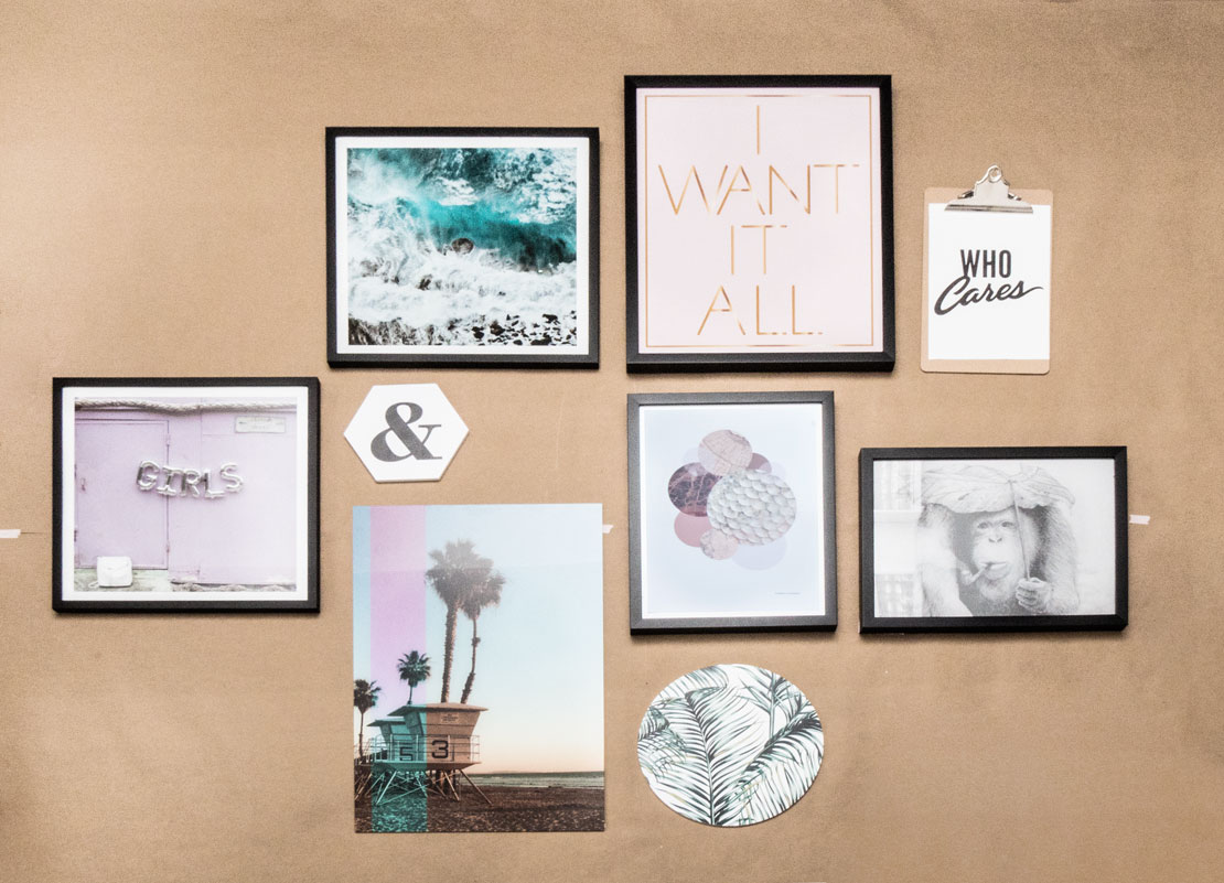 Galería de cuadros personalizada