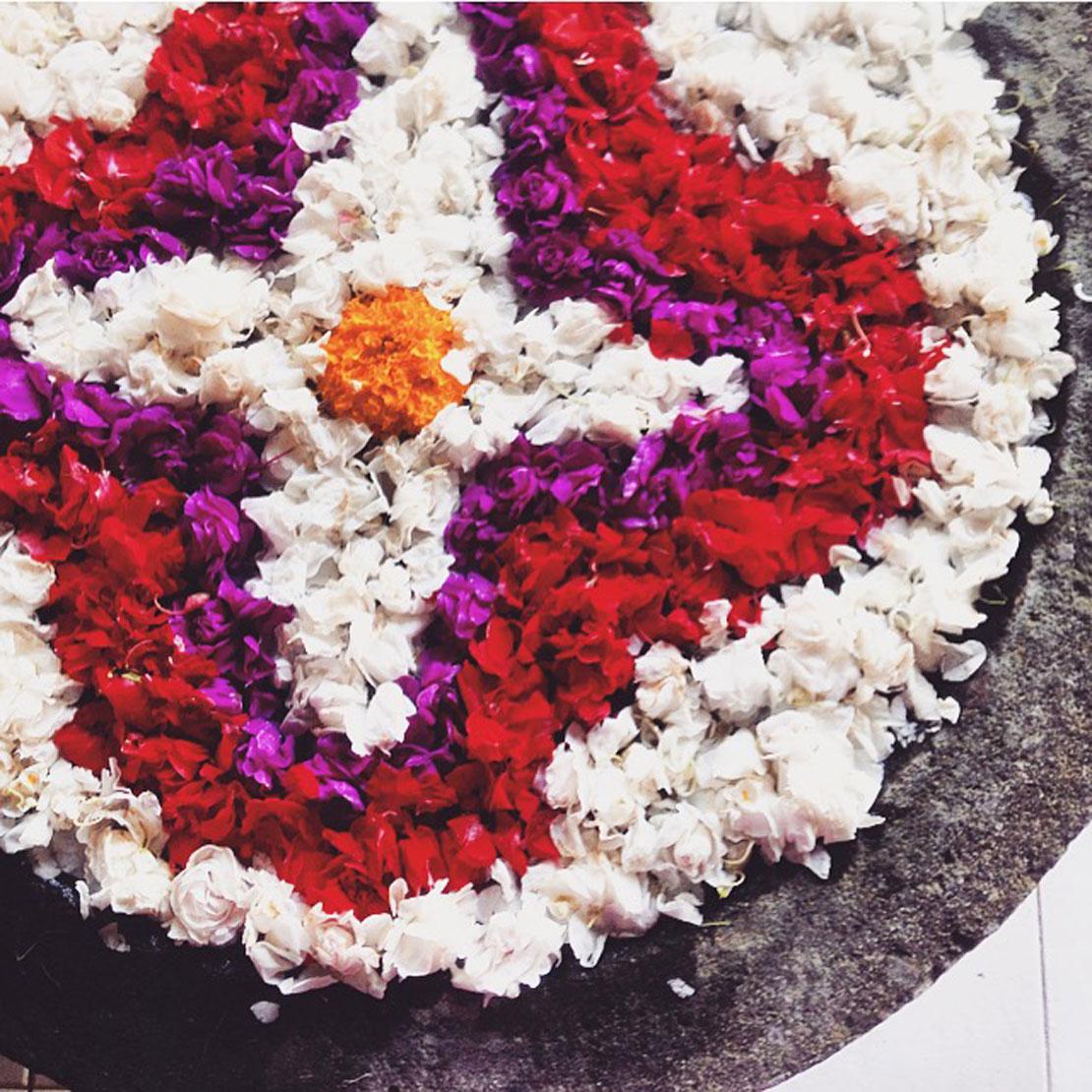 vacaciones en Bali flores