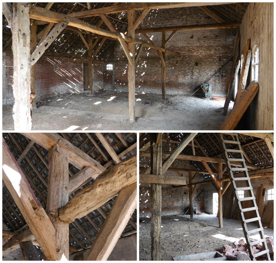 casa granja antes de la renovación