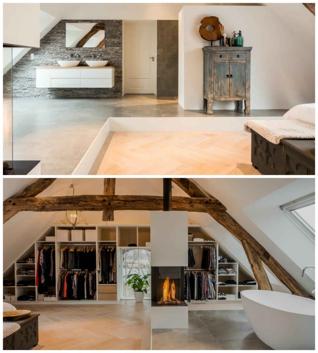 Casa granja renovado piso superior
