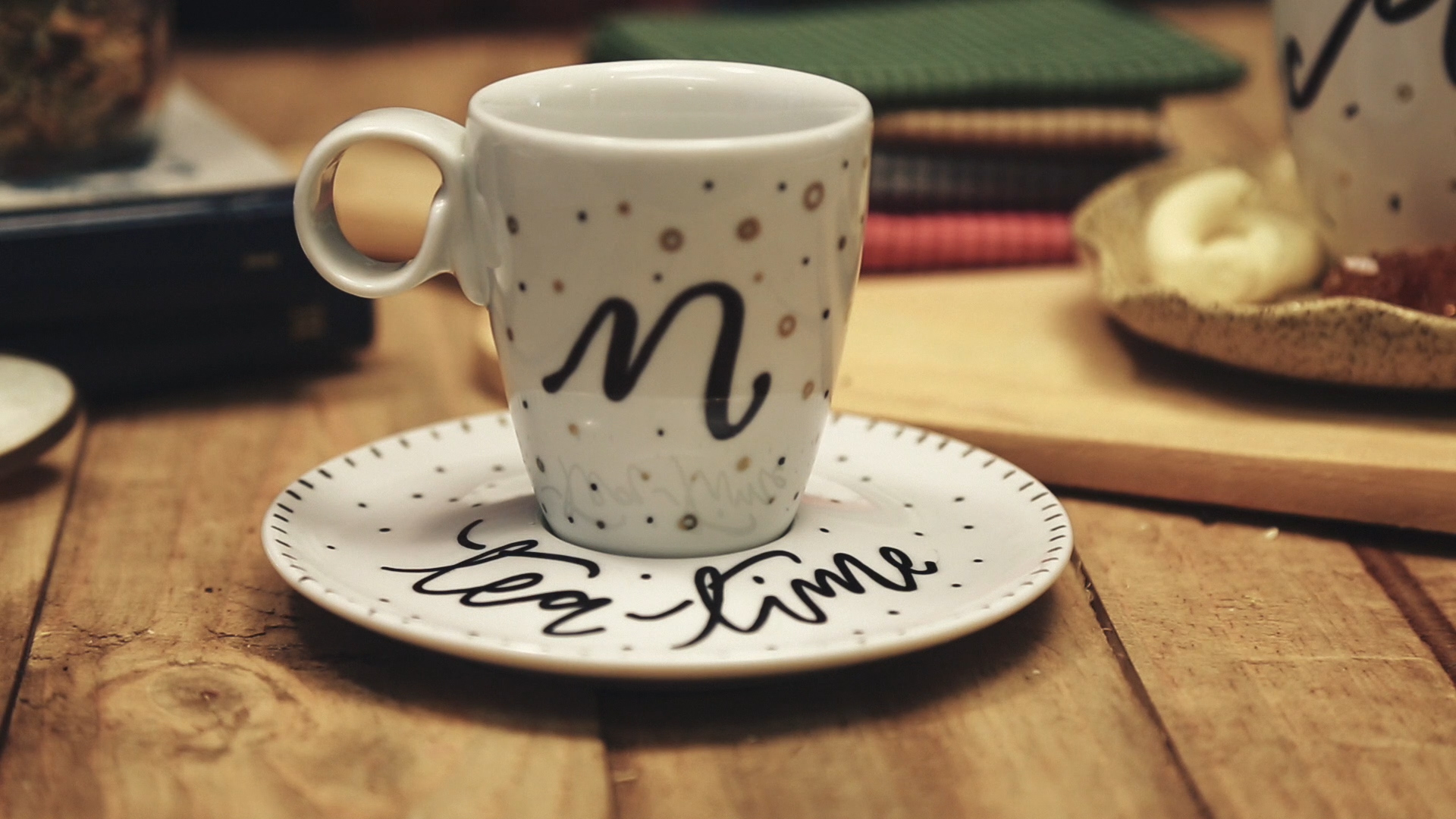 Cómo decorar una taza de té final