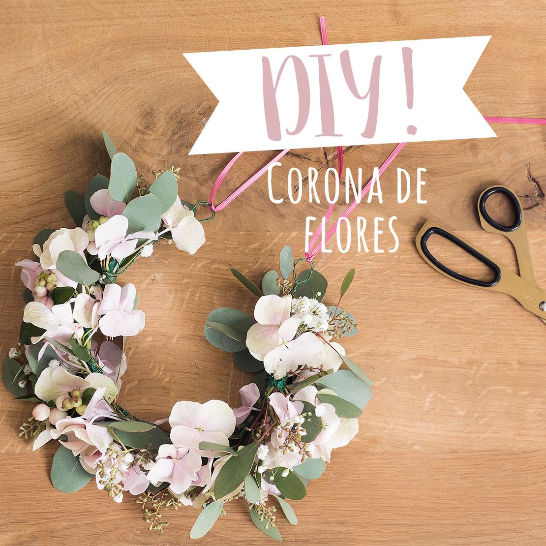Cómo hacer tu propia corona de flores DIY