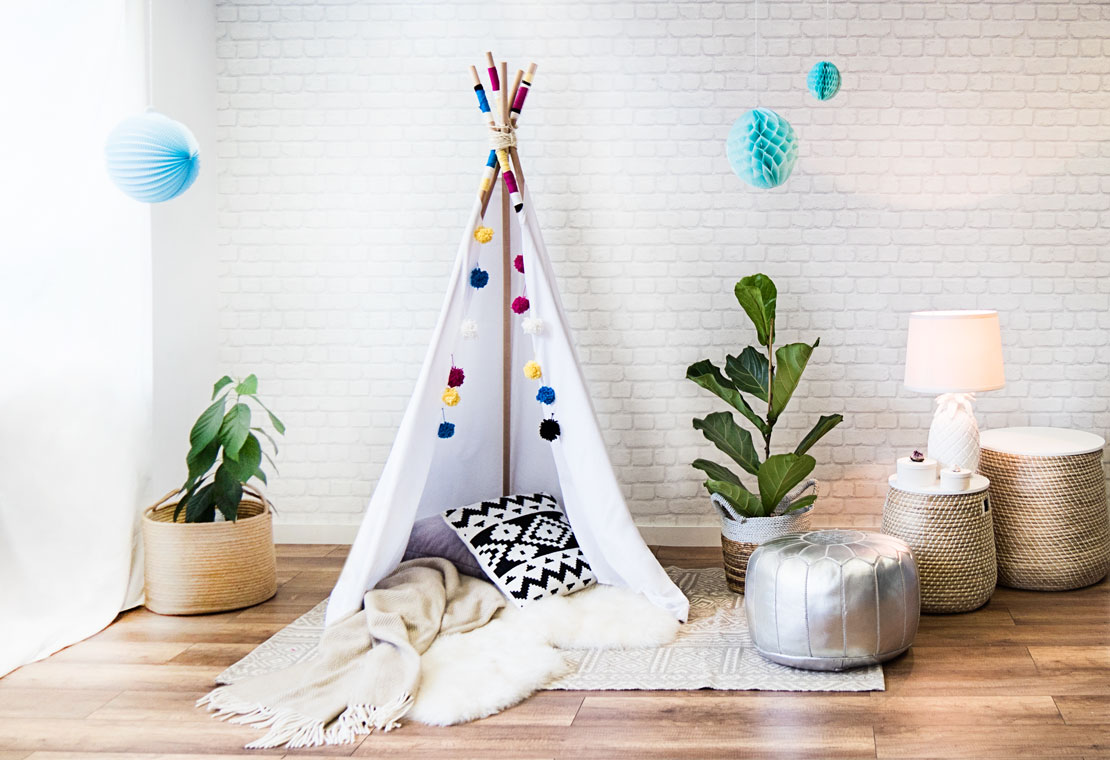 Tipi indio DIY final