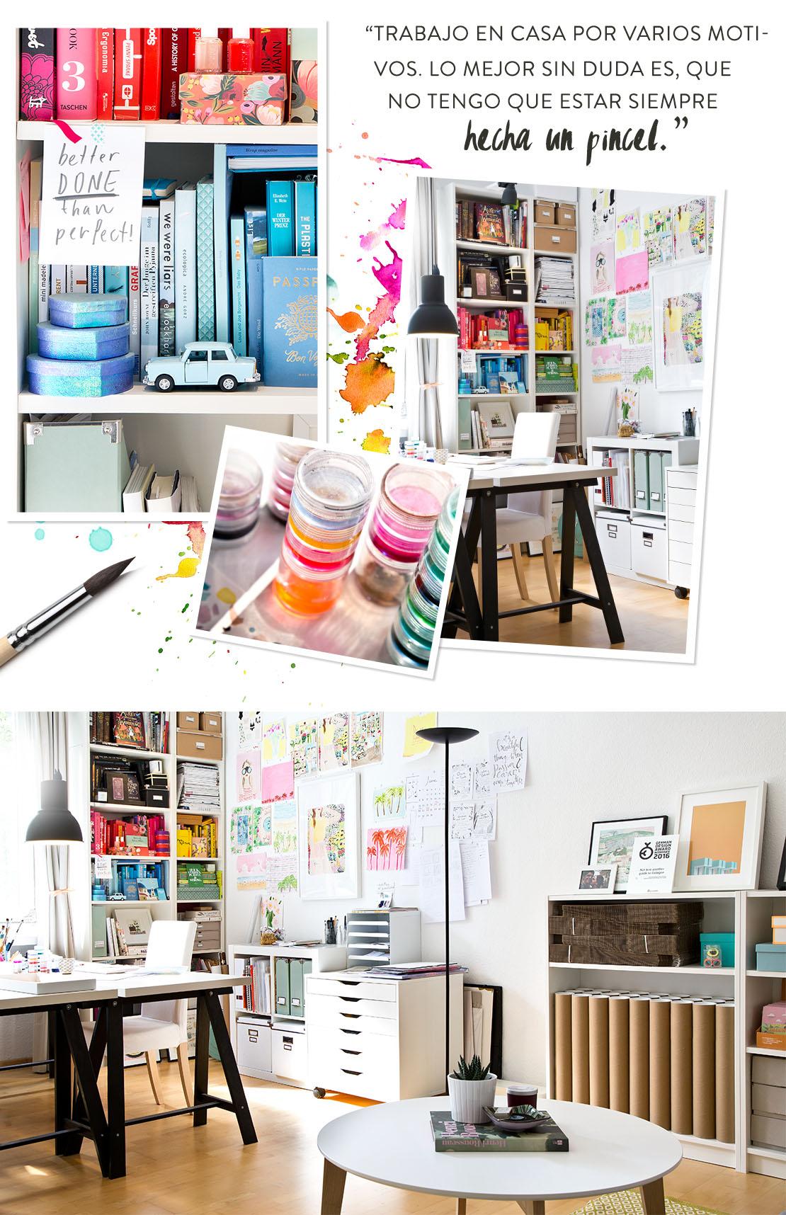 Piso pequeño oficina