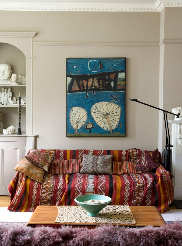 Habitaciones que inspiran estilo bohemio
