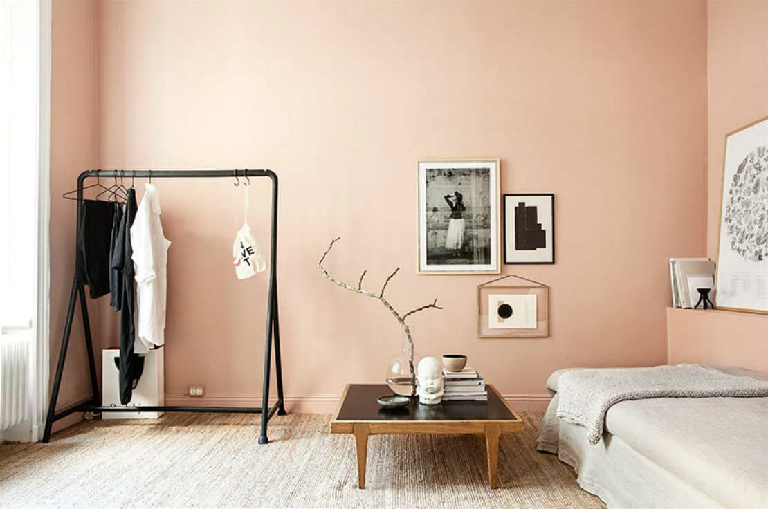 Habitaciones que inspiran rosa
