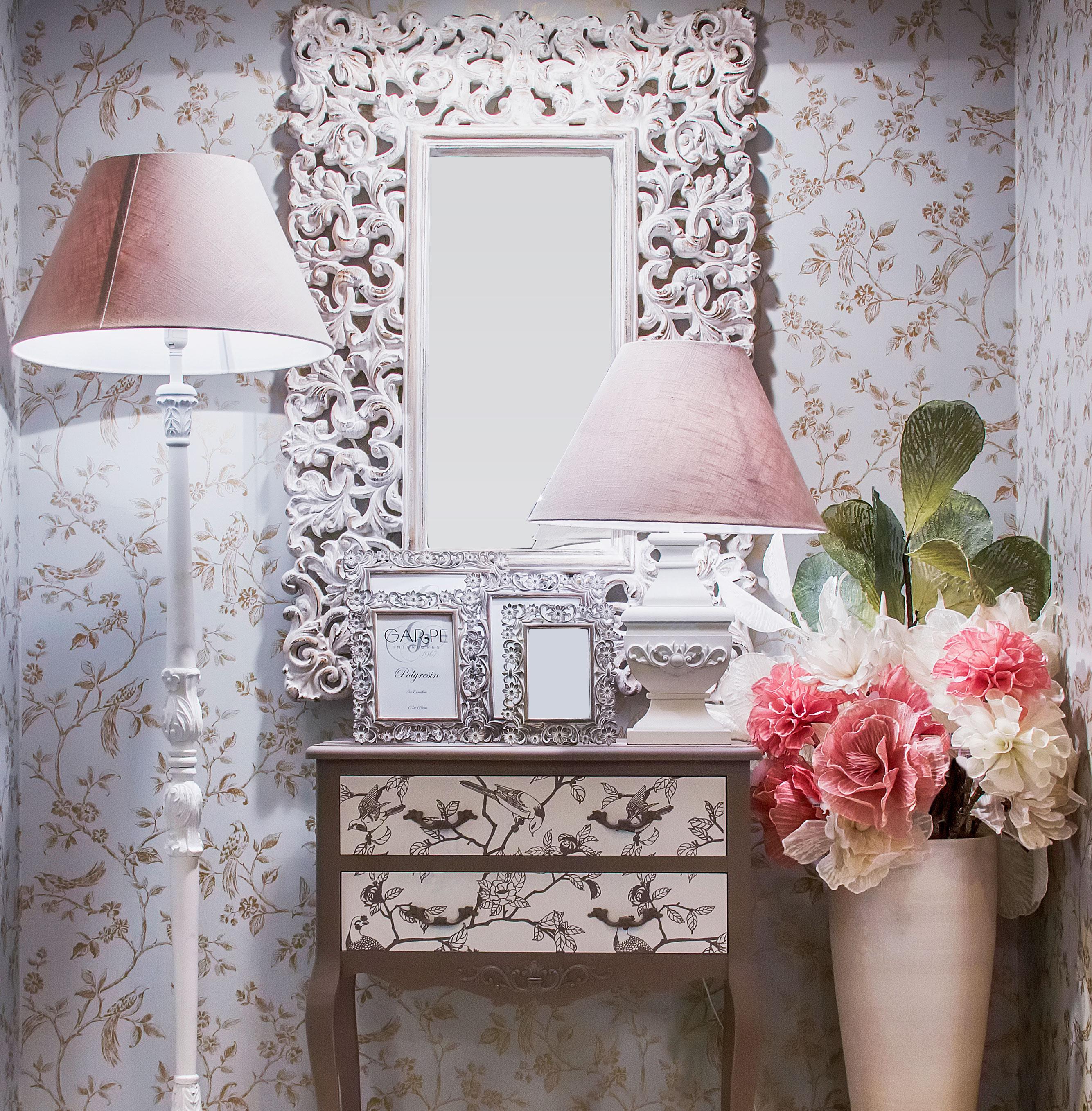 Decoración romántica Garpe Interiores