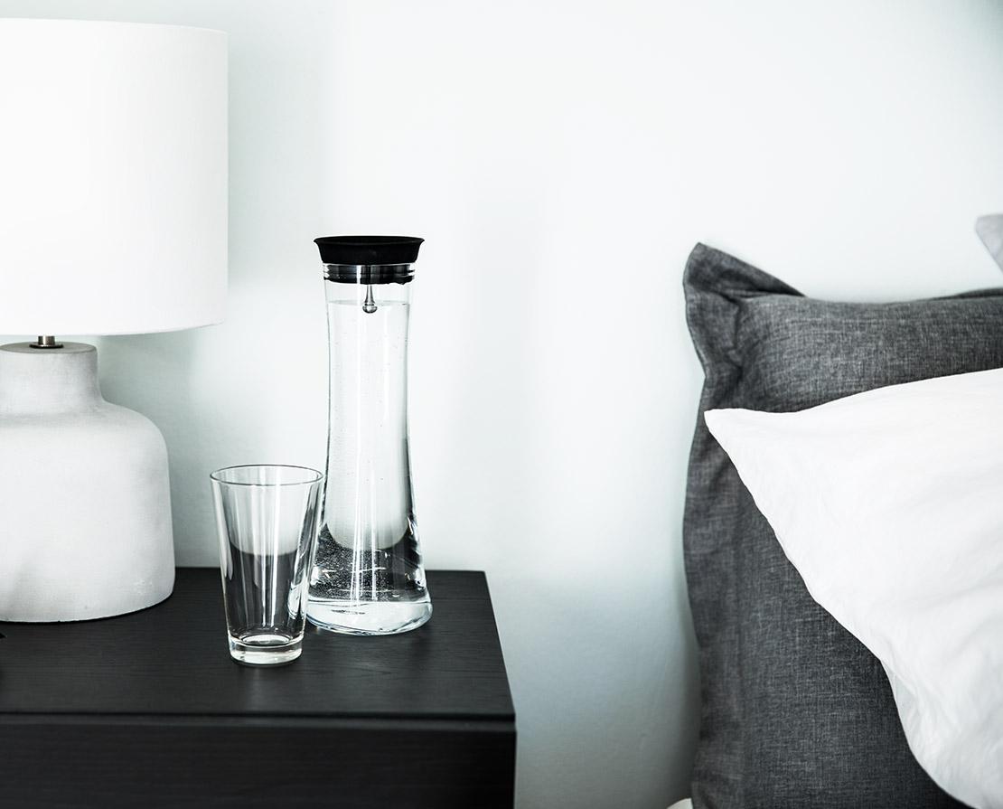 cuarto de invitados perfecto agua