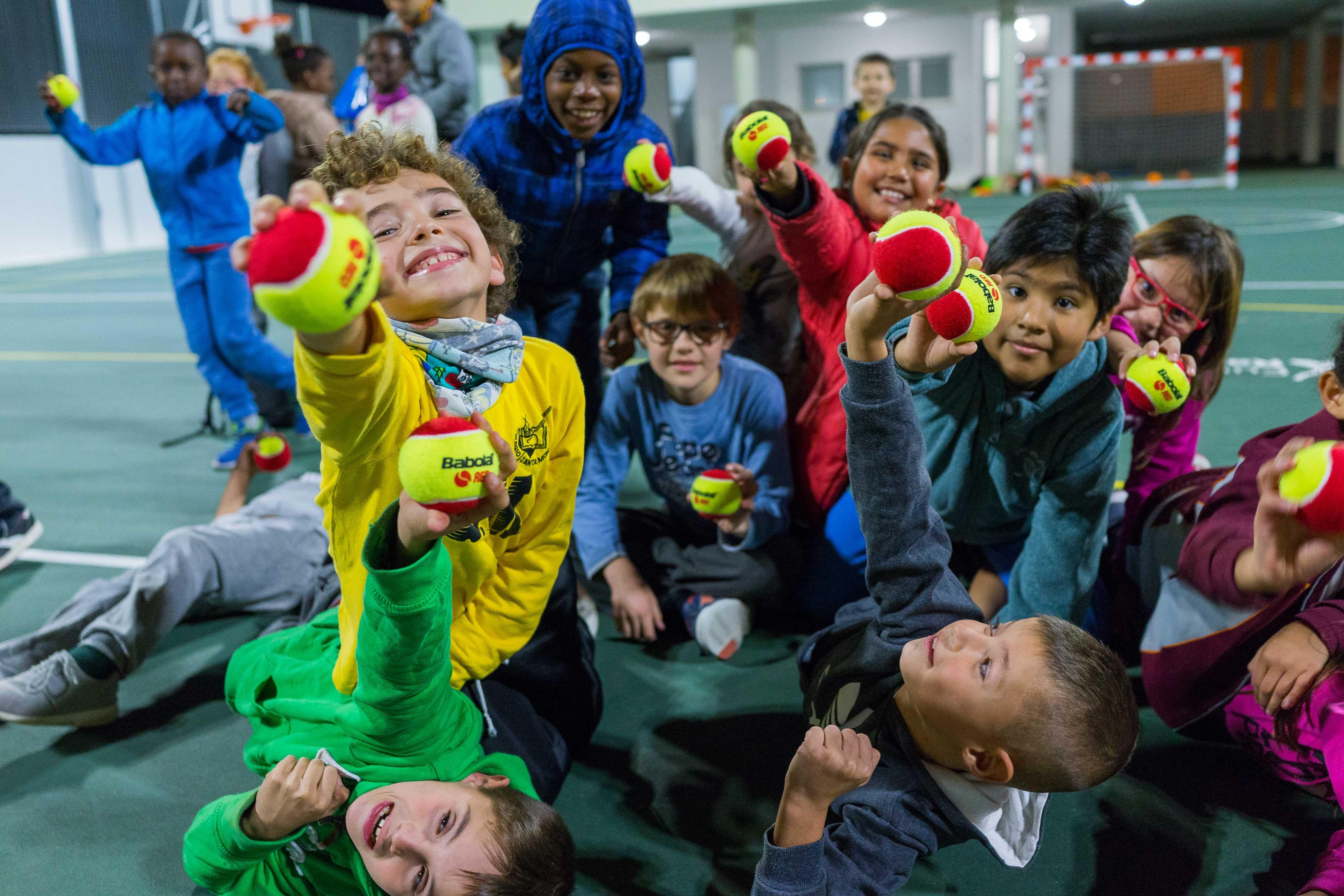 El Centro Fundación Rafa Nadal atiende a niños y jóvenes de los barrios más desfavorecidos de Palma de Mallorca.