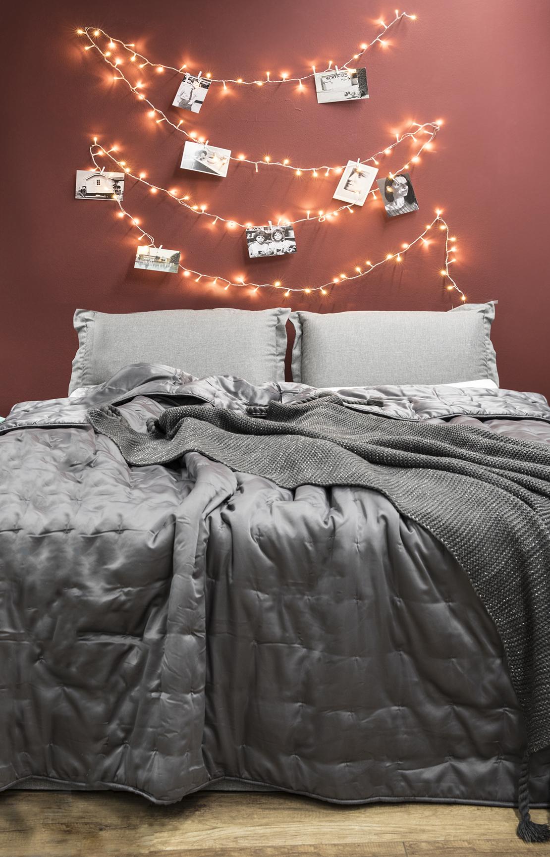 Ideas para reutilizar las luces de Navidad fotos