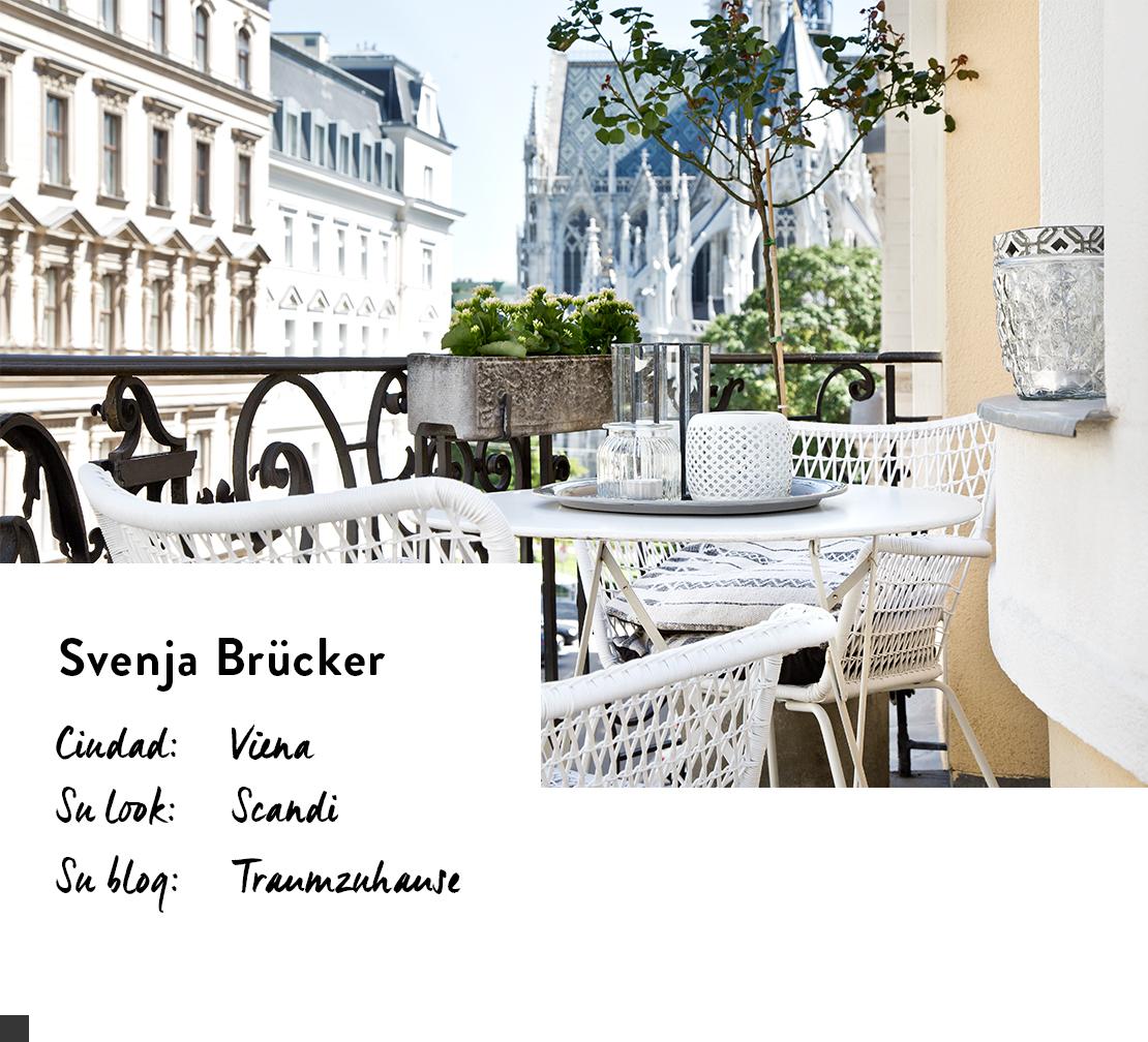 propietaria de un piso nórdico en Viena