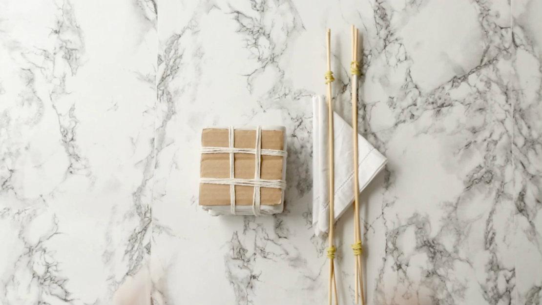técnica itajime shibori
