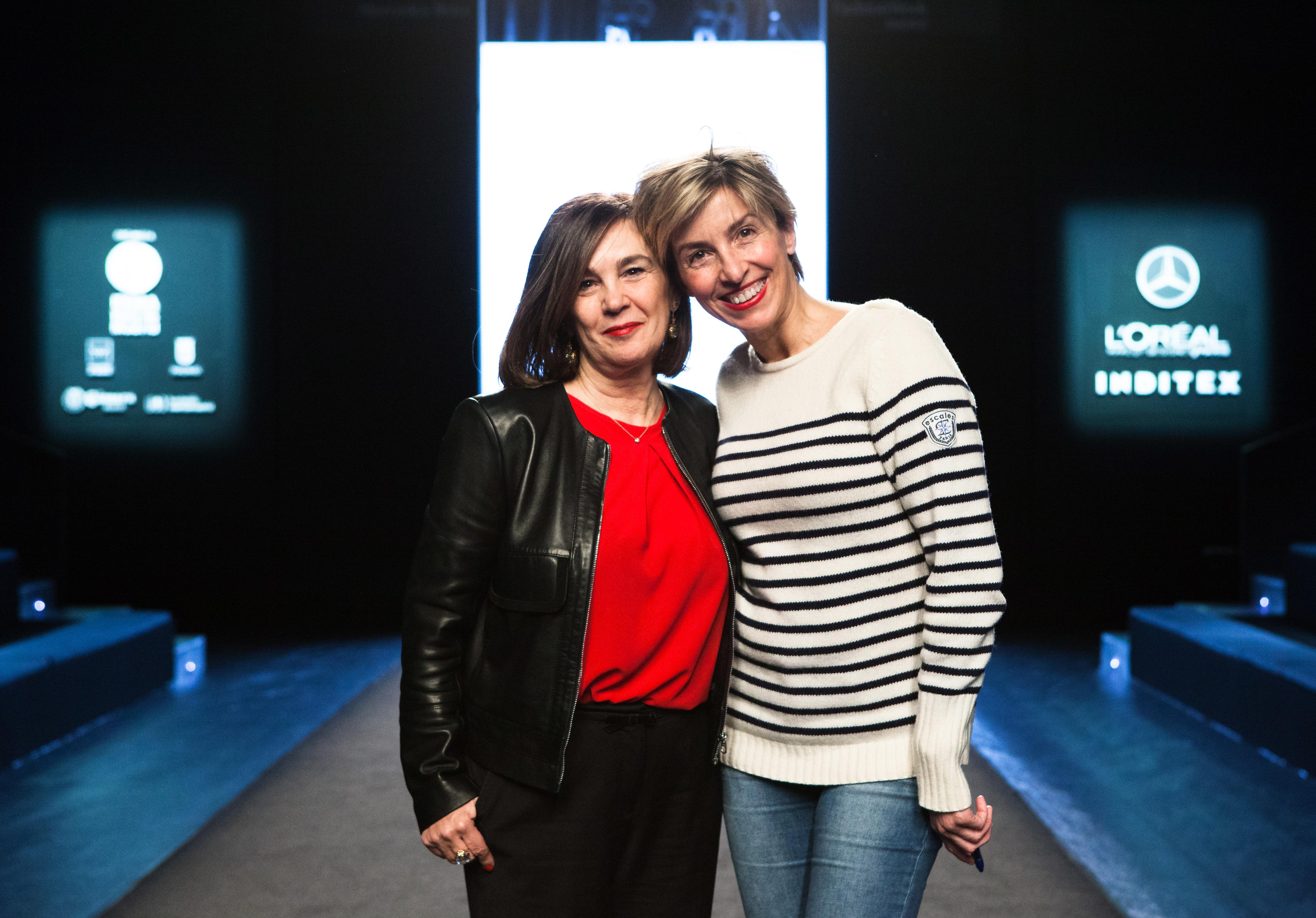 Charo Izquierdo y Silvia Arenas