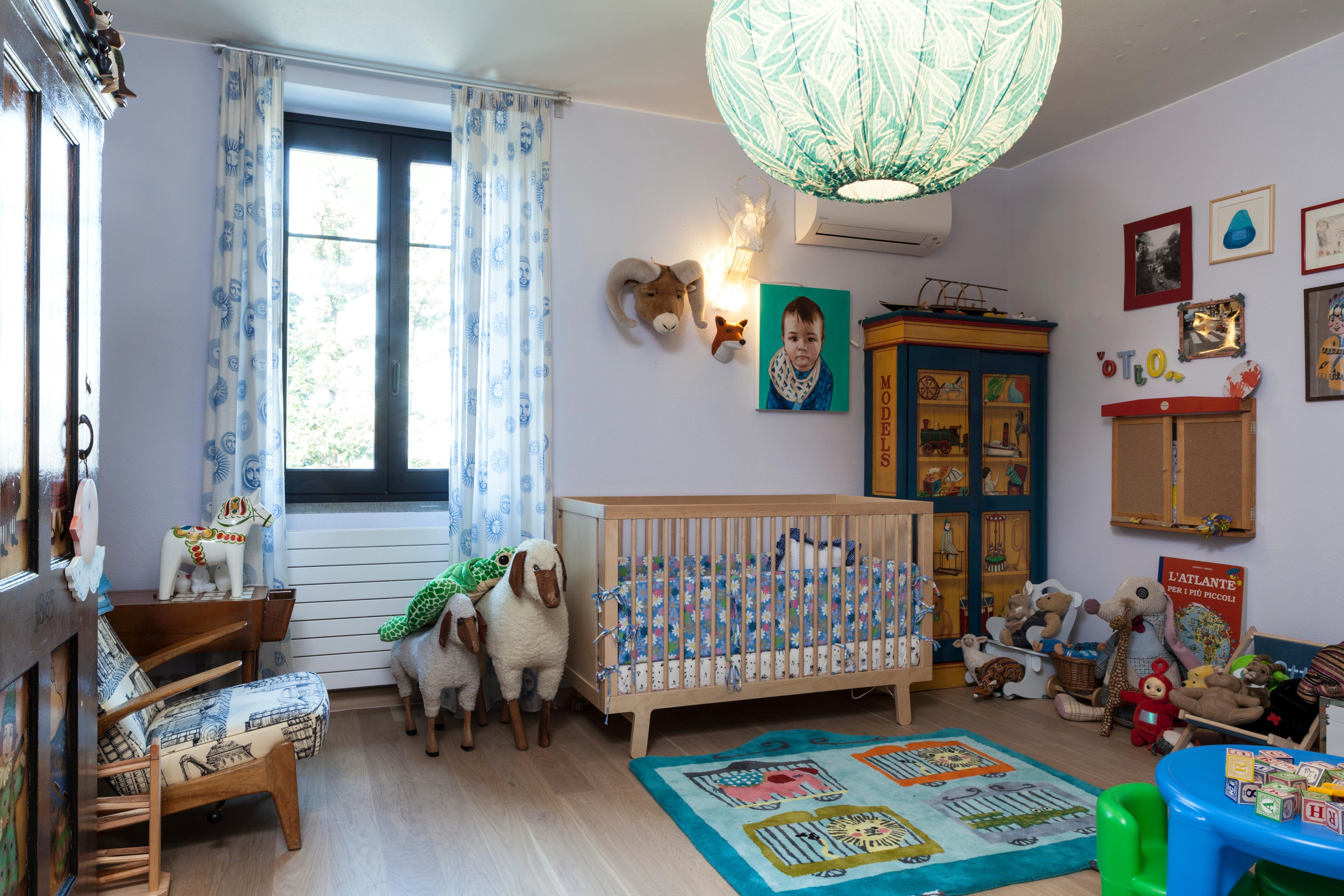 Habitación infantil en la casa de Margherita Missoni