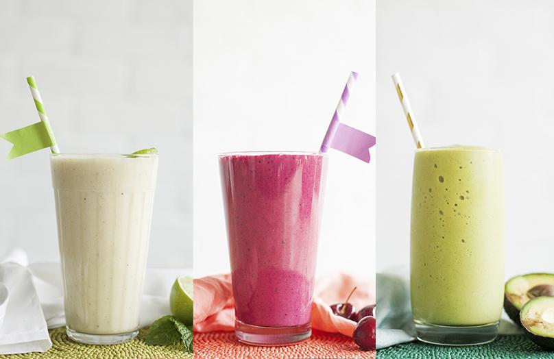 3 batidos con sabor a verano