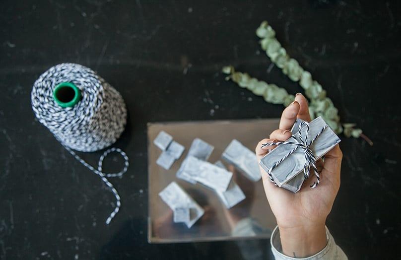 DIY Jabón de mármol