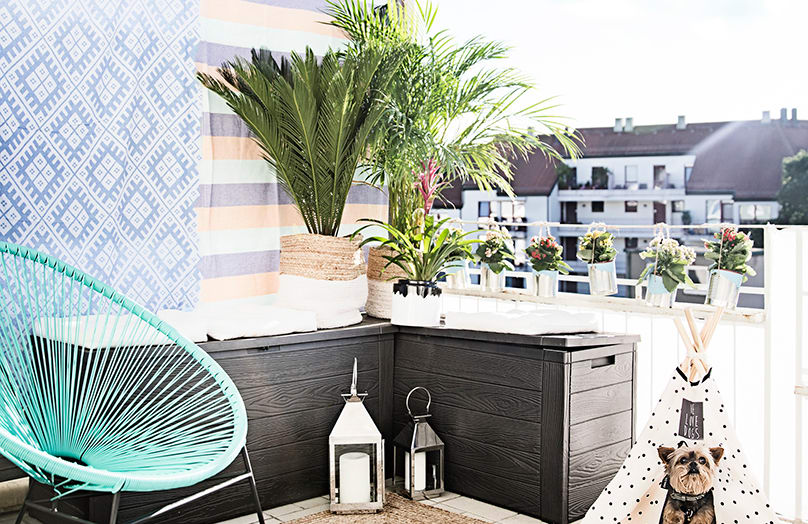 Actualiza el balcón en verano