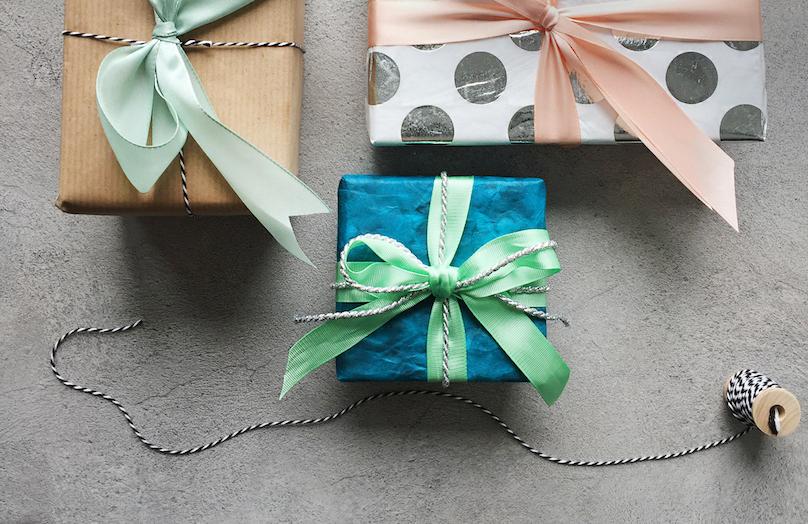 Lazos de regalos - 3 estilos