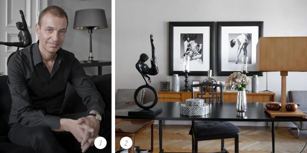 Chez Bernd Schürmann - créateur de mode