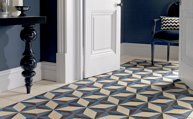 La vogue du bleu inspiration magazine westwing - Carreaux de ciment bleu ...