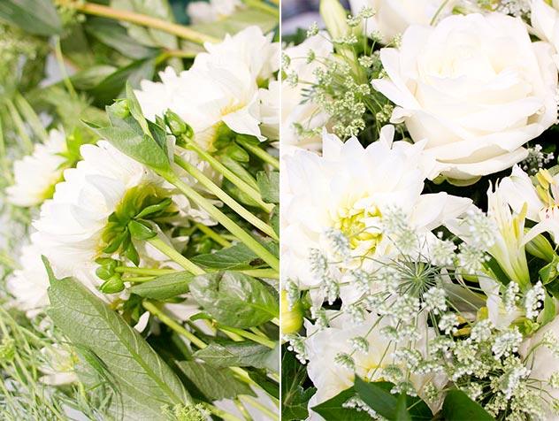 Le bouquet blanc